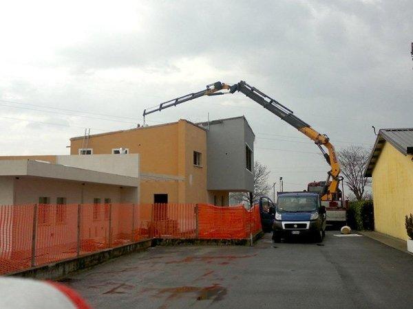 posizionamento in quota tetti