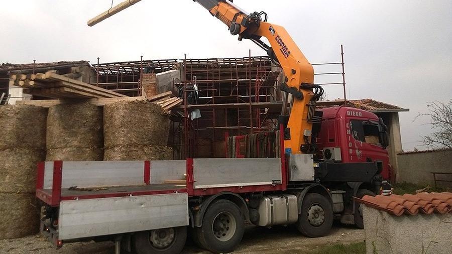 camion trasporto legname
