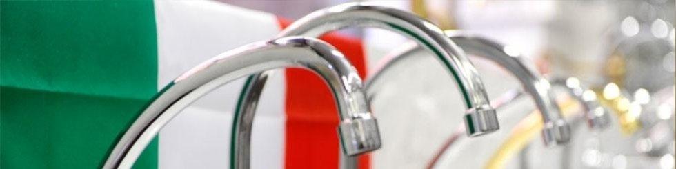 rubinetteria in acciaio