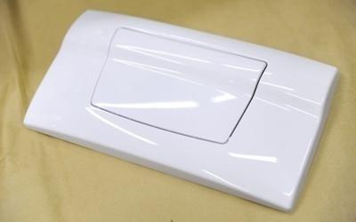 placca scarico pulsante unico