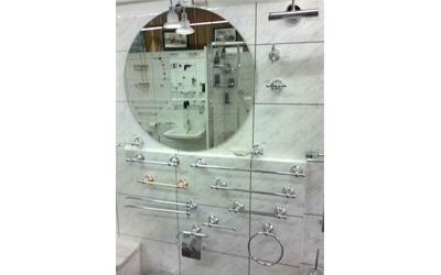 specchio tondo bagno