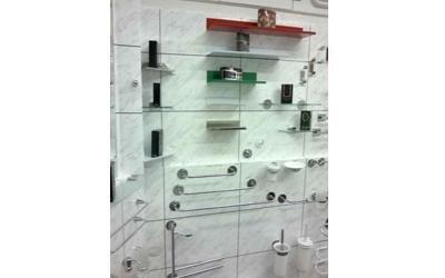 accessori in acciaio e vetro
