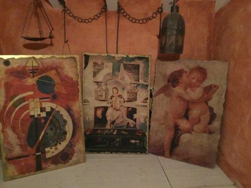 decorazioni per interni, pitture decorative