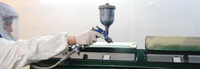 painting cars