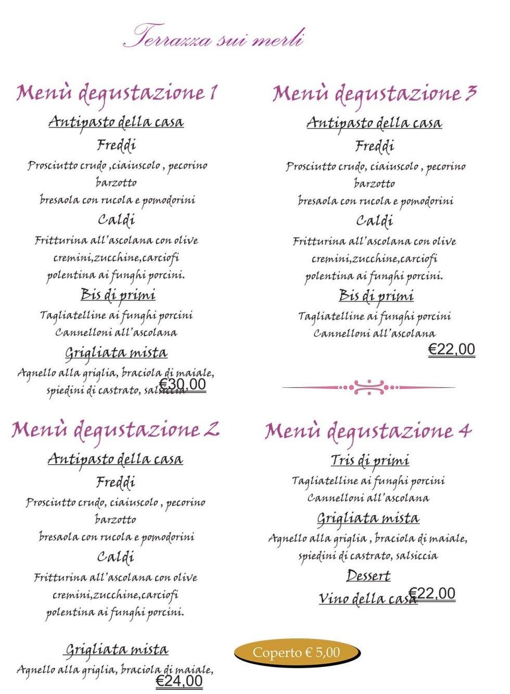 Ristorante su la Terrazza sui Merli - Ascoli Piceno - Lorenz Cafè