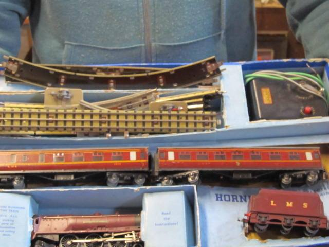 J J Howe auction train set