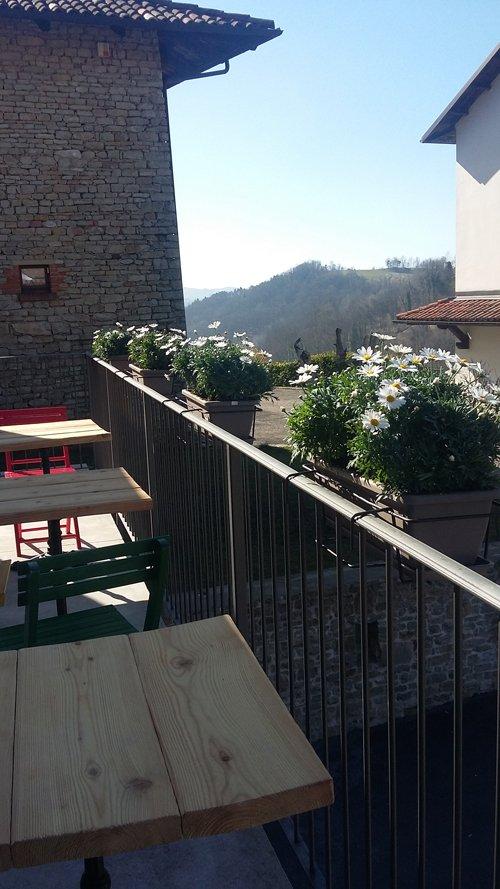 vista da una terrazza