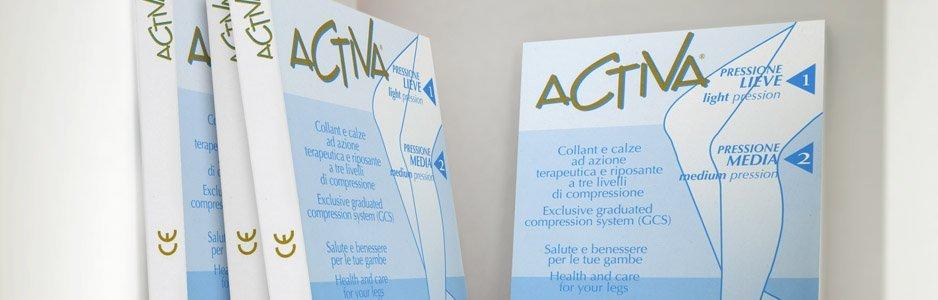 Confezioni di calze elastiche Activa ad azione terapeutica e riposante