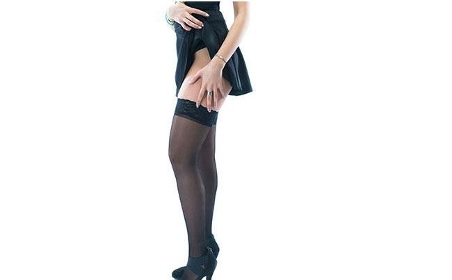Black 140 Stockings