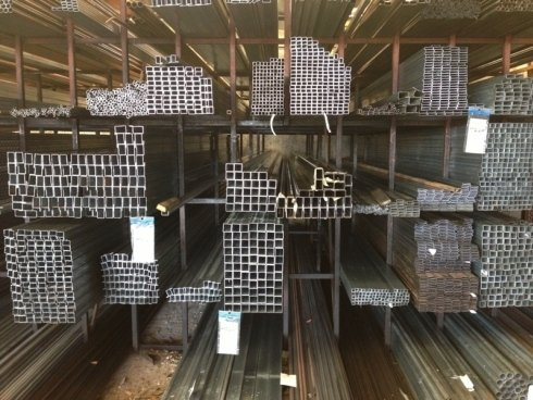 barre quadre di metallo