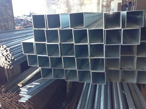 tubi quadri per carpenteria