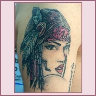 Tattoo figurativo