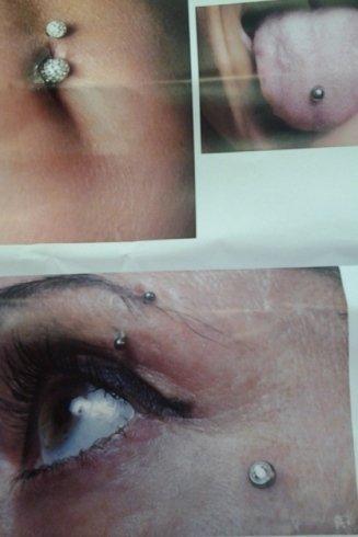 piercing personalizzati