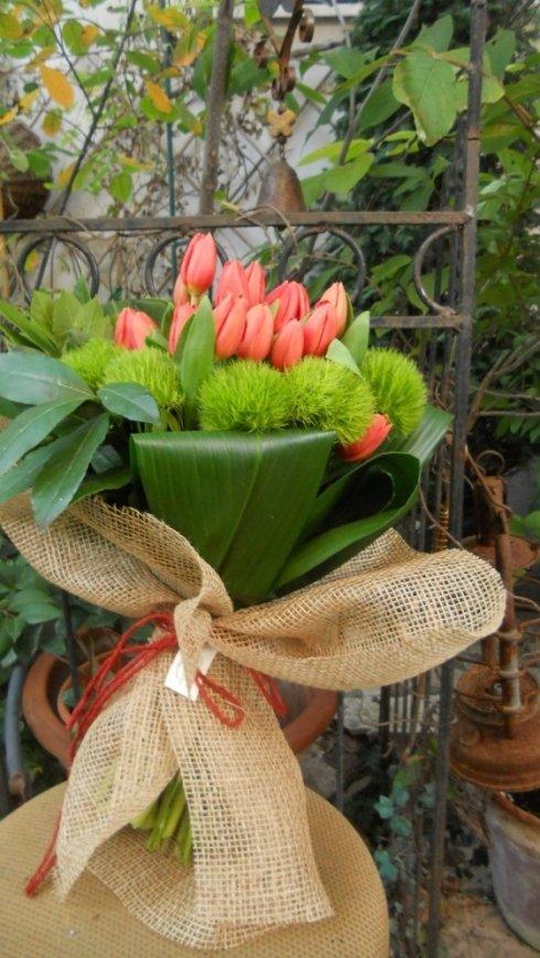 composizione fiori, piante, fiorista