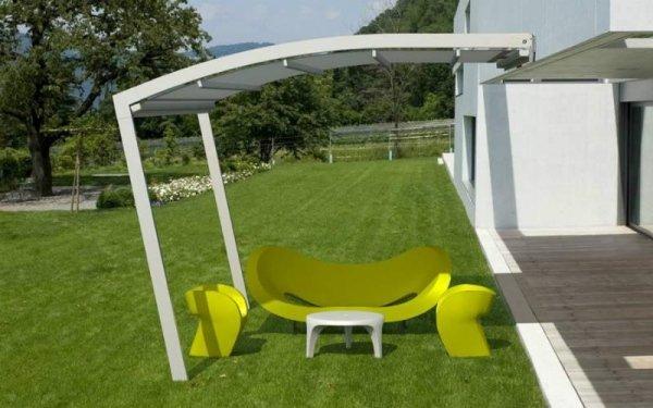 Copertura mobile per giardini
