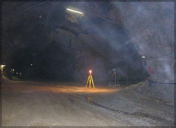 rilevazione in cave e miniere