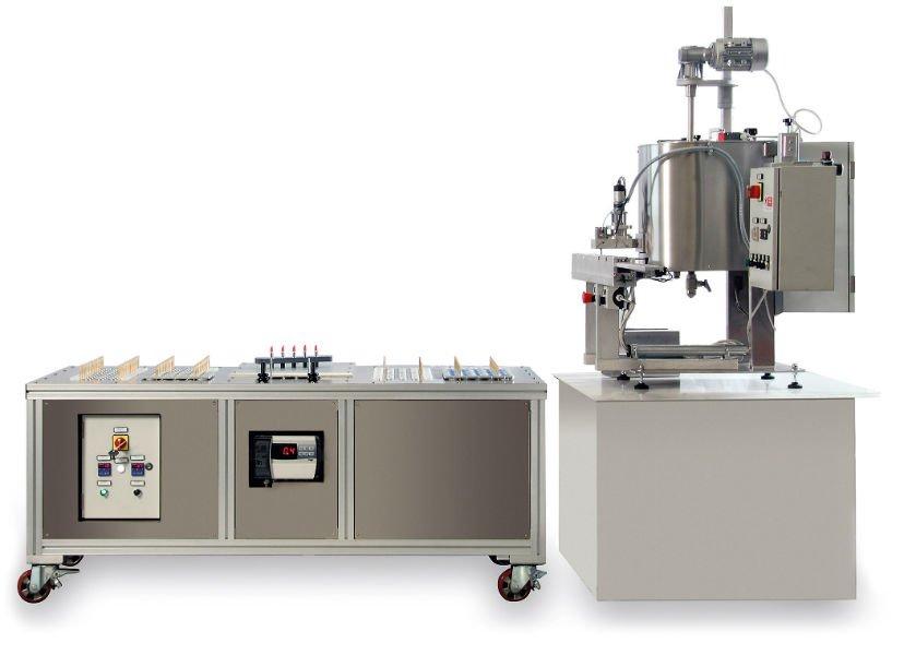 una macchina per produzione dei rosetti
