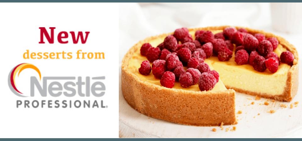 Delicious desert from Nestle