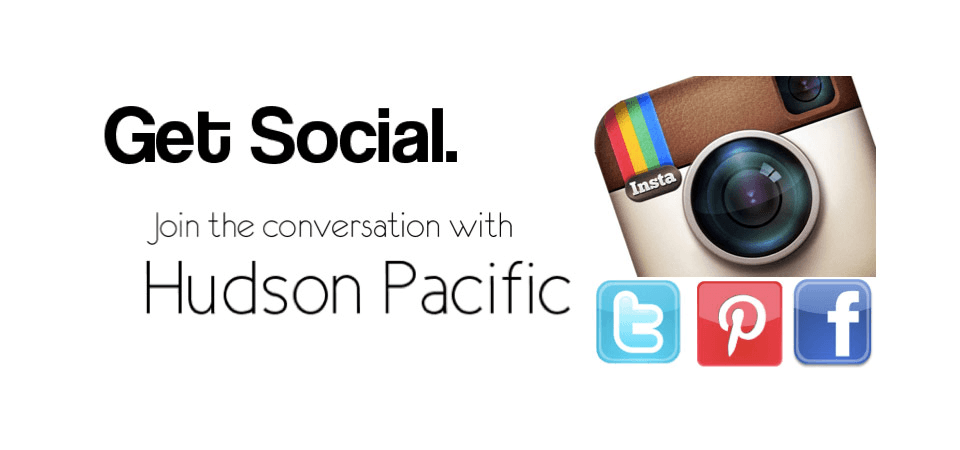 Hudson pacific available on social platform