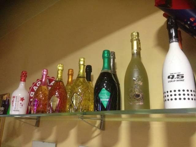 assortimento di liquori