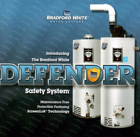 Bradford White's Defender safety system for water heaters - Gallett Air