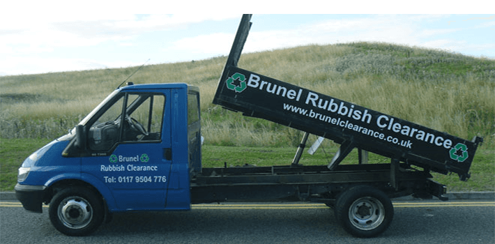 Waste collection - Patchway, Bristol - Brunel Rubbish Clearance - Focus on Van