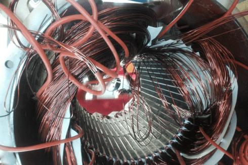 servizio riavvolgimento statore potenza espressa in hp=390