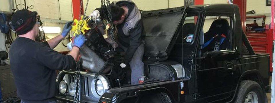 jeep repair