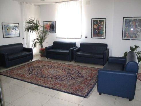 sala d'attesa studio oculistico