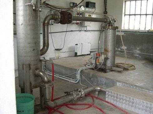 impianto pompaggio masino