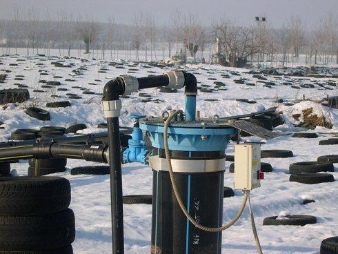 particolare impianto biogas