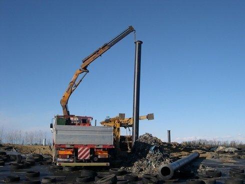 discarica e installazione impianto