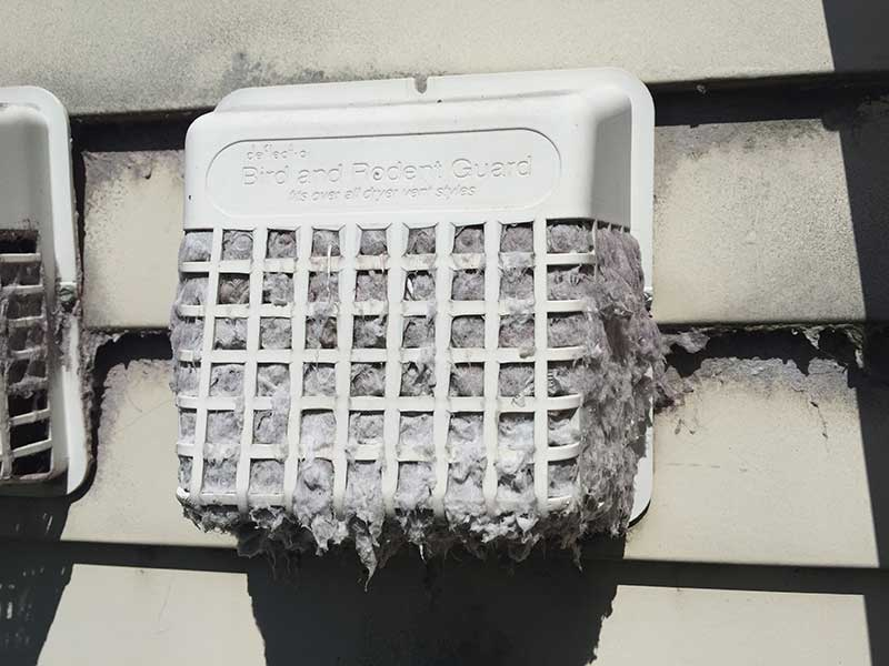 Dangers Of Clogged Dryer Vents