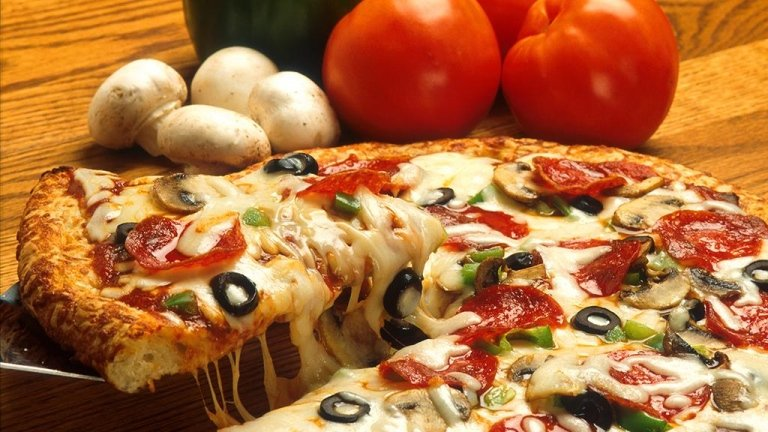 Pizzas made with the best ingredients