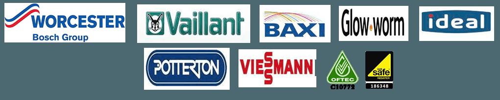 WORCESTER BAXI OFTEC logos