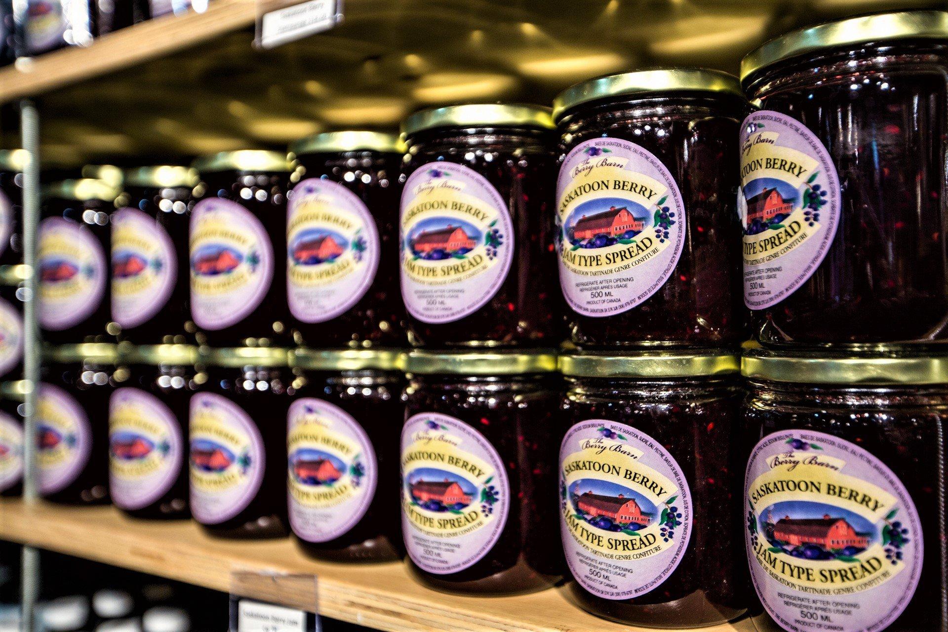 Jams and jellies photo