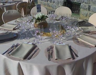 decorazione tavoli per matrimoni