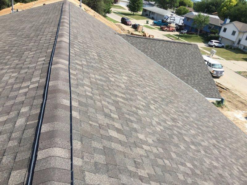 Roofing progress