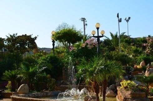 giardino con fontane