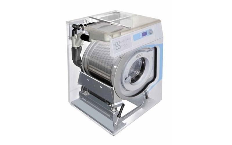 lavatrice industriale interno dettaglio