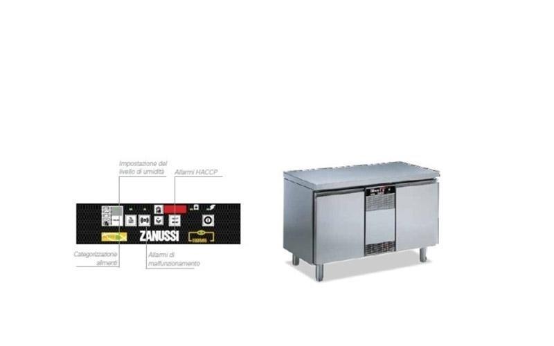 refrigeratore zanussi professionale