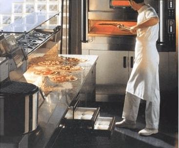 Forno pizza Zanussi