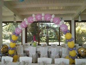 Allestimenti con palloncini colorati per feste ed eventi a Bari