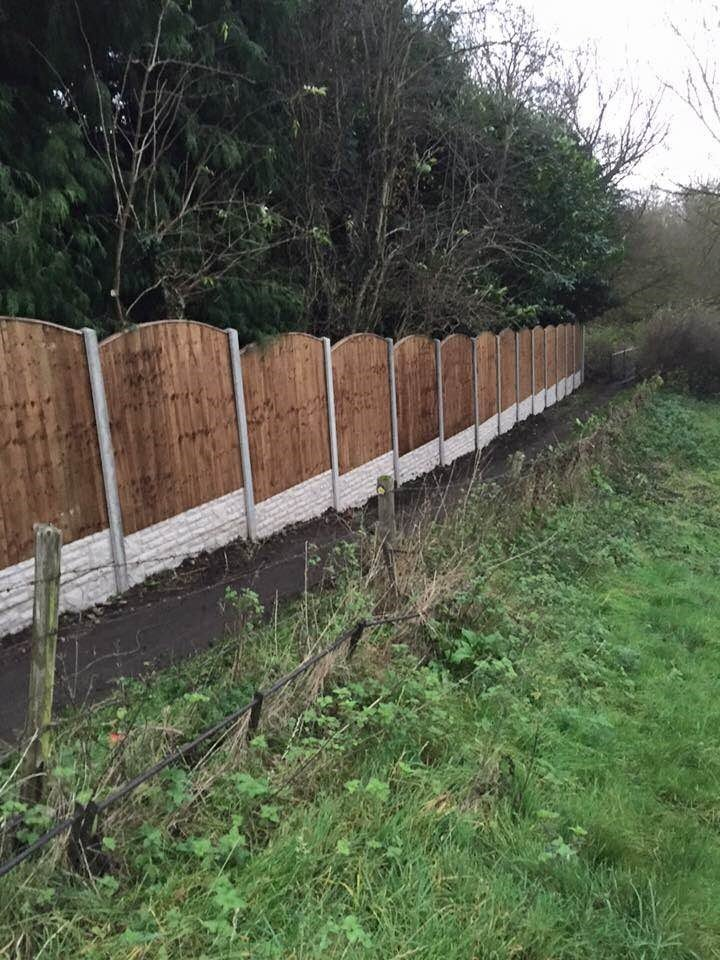 complete fence for the garden