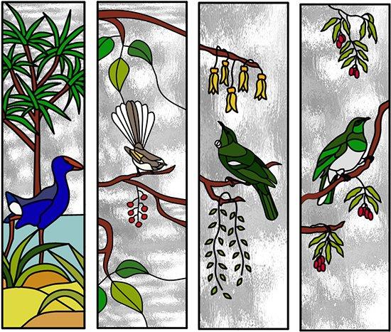 artrix glass new brochure leadlite birds