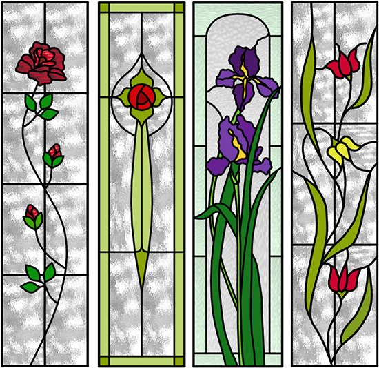 artrix glass new brochure leadlite flowers