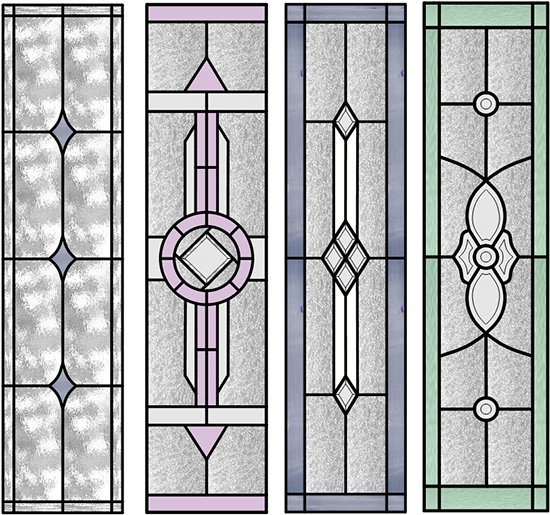 artrix glass ETCHED PANELS