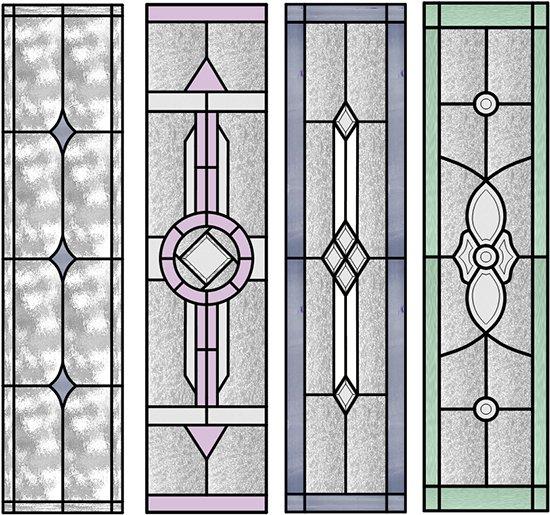 artrix glass ETCHED PANELS