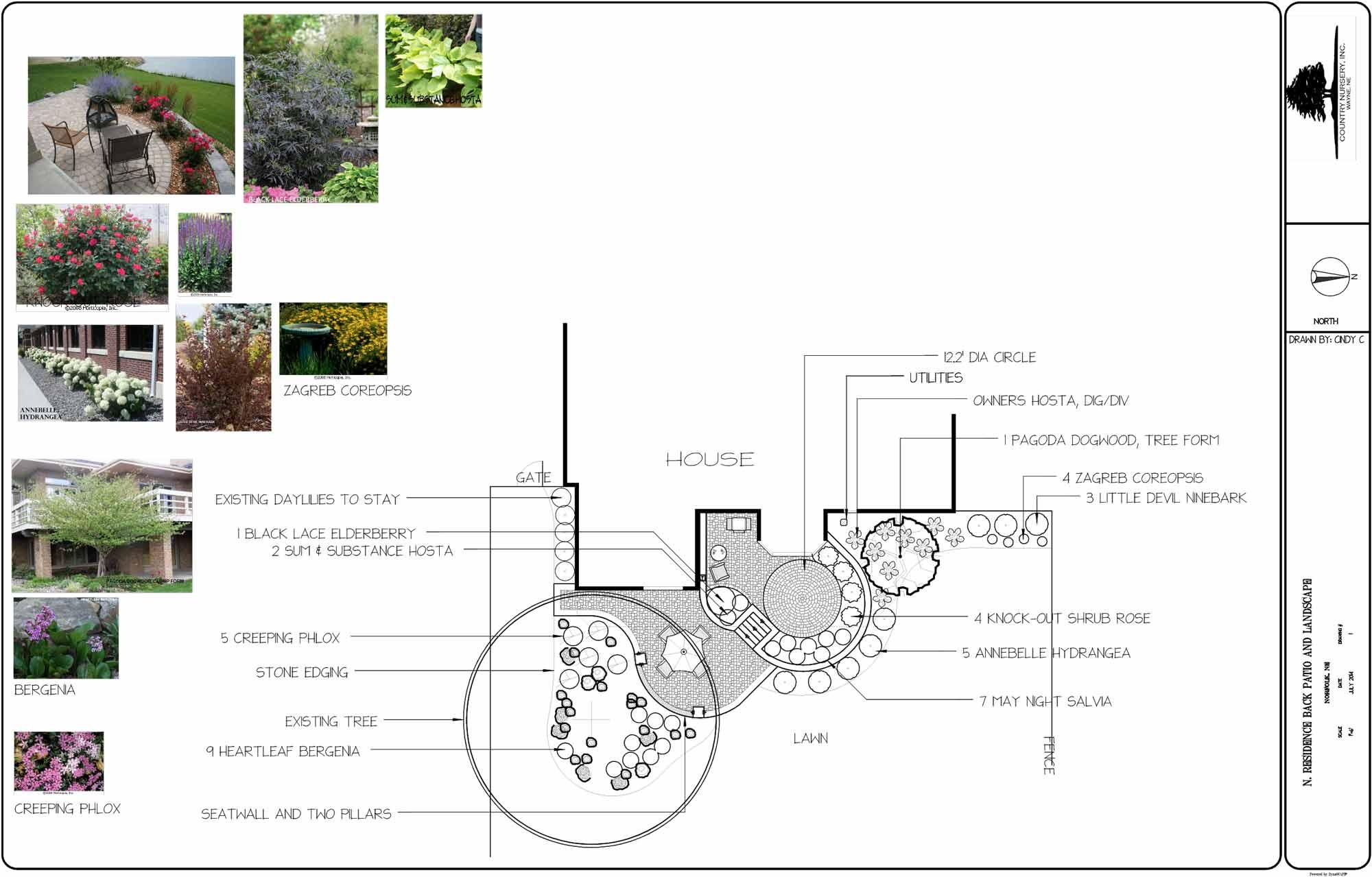 bushes, design, floorplans