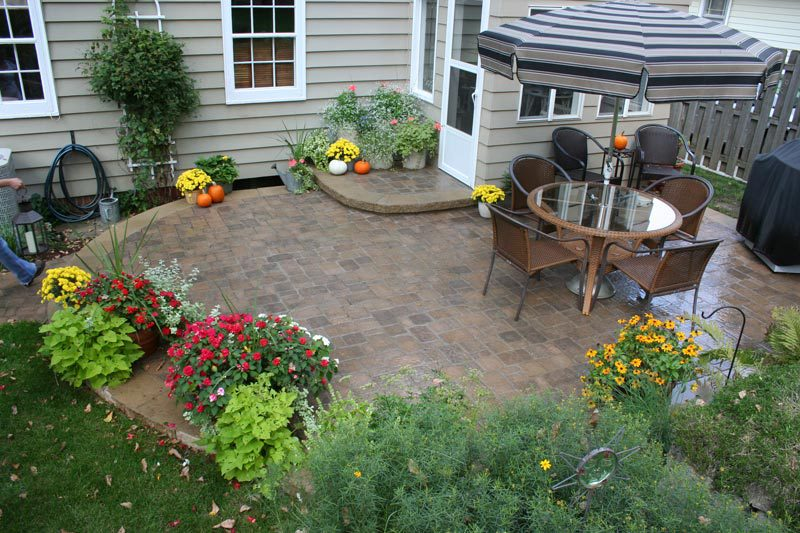nice paved area